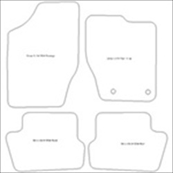 Citroen C4 Coupe 3 Door Car Mats